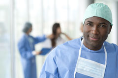 Male surgeon Royalty Free Stock Photography