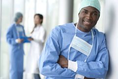 Male surgeon Stock Photography