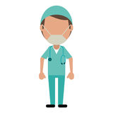 Male surgeon medical professional Royalty Free Stock Photos