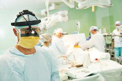 Male surgeon portrait Stock Photo