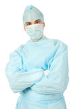 Male surgeon in uniform Royalty Free Stock Image