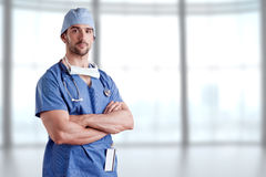 Male Surgeon Royalty Free Stock Image