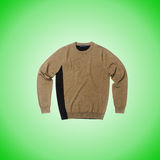 Male sweater against the gradient. The male sweater against the gradient Royalty Free Stock Photos