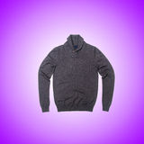 Male sweater against the gradient Stock Images