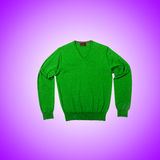 Male sweater against the gradient Stock Photography
