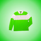Male sweater against the gradient. The male sweater against the gradient Royalty Free Stock Photo