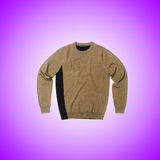 Male sweater against the gradient. The male sweater against the gradient Stock Photos