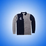 Male sweater against the gradient Royalty Free Stock Photography