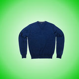 Male sweater against the gradient Royalty Free Stock Photos