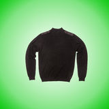 Male sweater against the gradient Royalty Free Stock Images