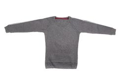 Male sweater isolated on the white. Background Royalty Free Stock Image