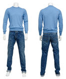 Male sweater on mannequin Royalty Free Stock Photography