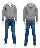 Male sweater on mannequin Royalty Free Stock Photo