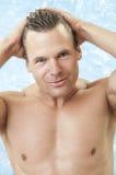 Male swim model Stock Photos