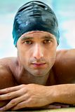 Male swimmer Royalty Free Stock Photo