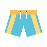 Male Swimwear isolated icon. Vector illustration design Royalty Free Stock Photo