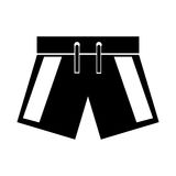 Male Swimwear isolated icon. Vector illustration design Stock Photography