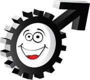 Male symbol Stock Photo