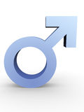 Male symbol Stock Photography