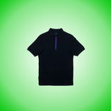 Male t-shirt against the gradient background Royalty Free Stock Photo