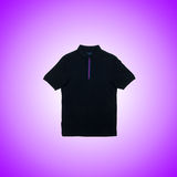 Male t-shirt against the gradient background Royalty Free Stock Image