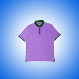 Male t-shirt against the gradient background Stock Photo