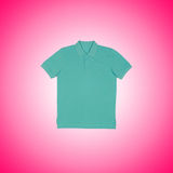 Male t-shirt against the gradient background. The male t-shirt against the gradient background Royalty Free Stock Image