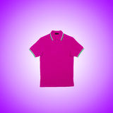 Male t-shirt against the gradient background. The male t-shirt against the gradient background Royalty Free Stock Photography