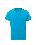 Male t-shirt isolated on white. Background Royalty Free Stock Photos