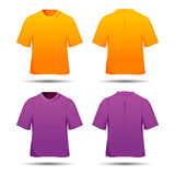 Male t-shirts Stock Images