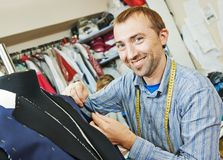 Male tailor portrait Stock Image