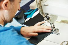 Male tailor at work Stock Photography