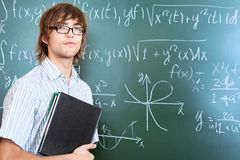 Male teacher Stock Photography