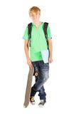 Male teen student Stock Photos