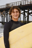 Male Teenage Surfer Royalty Free Stock Photos