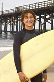 Male Teenage Surfer Royalty Free Stock Image