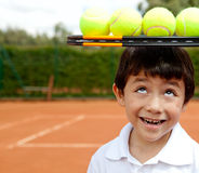 Male tennis player Stock Photo