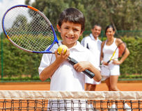 Male tennis player Stock Image