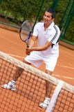 Male tennis player Stock Photography