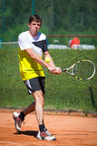 Male tennis player Royalty Free Stock Photos