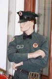 Male Texaco mannequin. Male Bob Texaco mannequin  in Dennis Albaugh's Classic Auto Barn, Ankeny, Iowa Royalty Free Stock Photography