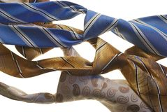 Male ties Royalty Free Stock Photo