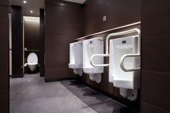 Male toalett Arkivbild