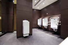 Male toalett Fotografering för Bildbyråer