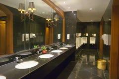 male toalett Royaltyfria Bilder