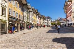 Male Tolz della stazione turistica bavaria immagine stock libera da diritti