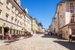 Male Tolz della stazione turistica bavaria Immagini Stock