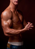 Male torso Stock Photos