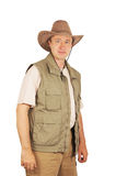 Male tourist Stock Photography