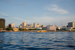 Male.Town.Maldives Royalty Free Stock Photo
